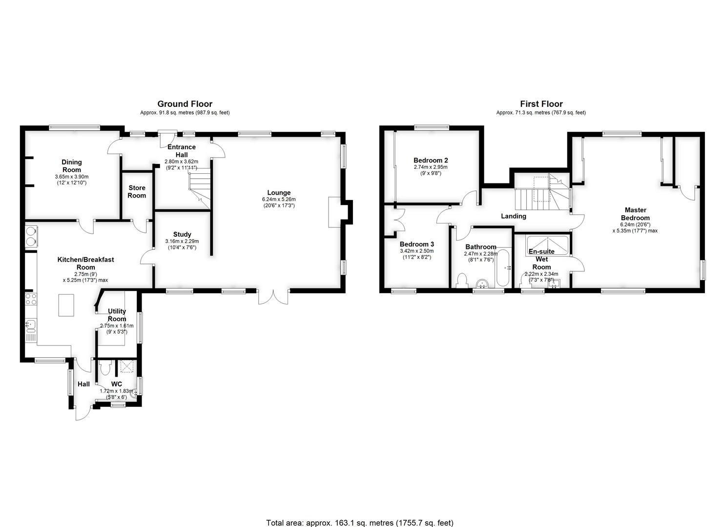 Floor 98 Explanation Home Plan